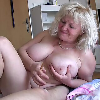 OldNannY Busty Ladies Playing With Small Cock
