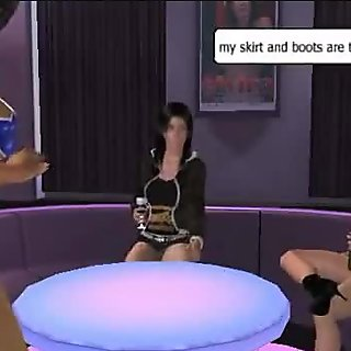 3D animated lesbians