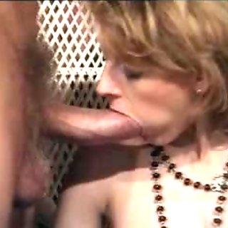 Sexed up European whore fucks a hairy cock and dildo