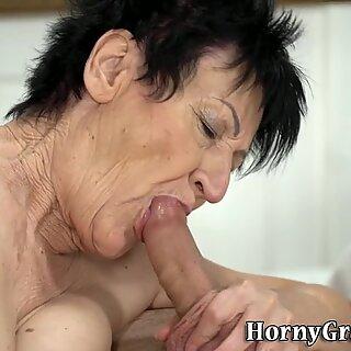 Morena arrugada abuelitas