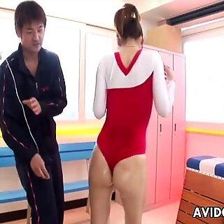 Onderdanig Modest Turner Arisa Aoyama krijgt haar Nat Kut gestimuleerd