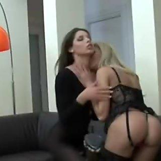 Zafira and Clara g pleasure each other