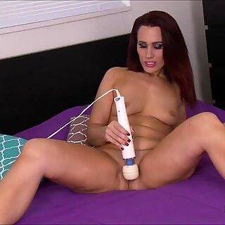 Crystal Rayne Enjoys A dildo In Her Pussy