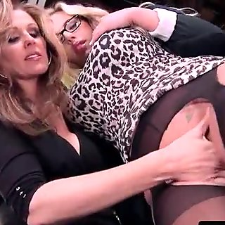 Hot and Mean Lesbian - Disciplinary Action Part One with Julia Ann &amp_ Olivia Austin 01
