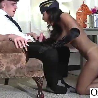 (lezley zen) Office Girl Get Seduced And Naild Hard Style clip-25