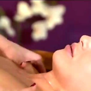 Hot Lesbian Fucking In A Massage Room Part I