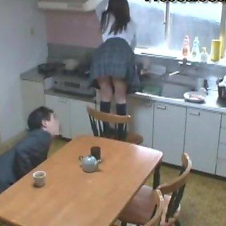 Horny Japanese Babe Fucking