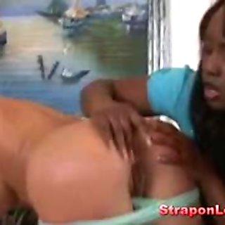 Lesbian interracial sex