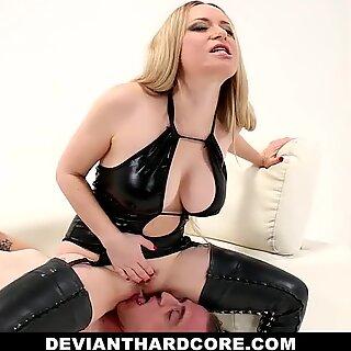 Deviant Hardcore - Submissa Mariquinhas Pegged por Aiden Starr