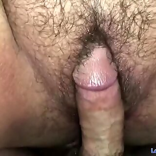 Ftm Cums & Squirts All Over Daddy  ??s Raw Cock