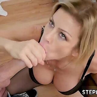 Milf and playfellow share husband xxx My Peeping friend s step son