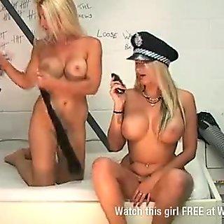 Jessica Lloyd & Sami Jay prison girl on girl