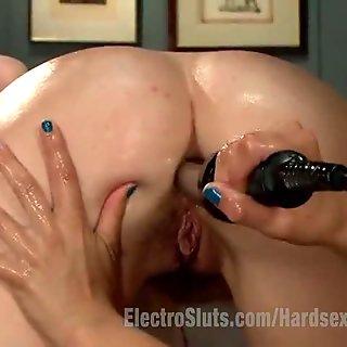 Lesbian Electro Punishment