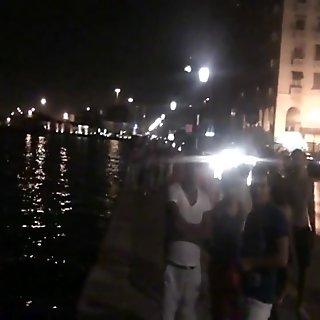 Nachts in der Stadt unterwegs Teil 3