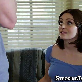 Teen stepsis sucking dick