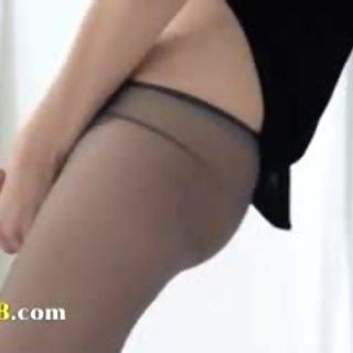 Hot 19yo girl teasing in front of mirorr