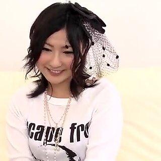 Porrušující porno show podél Superb Megumi Haruka