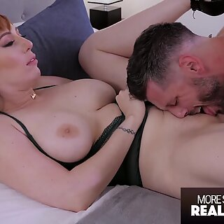 Güzel kızıl saçlı fıstık ile sıcak şehvetli sex - gerçekçi