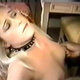 Busty blonde Milf lesbo bangs in threesome