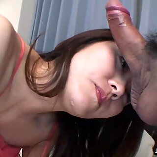 Mature Asian gets fucked doggie from the rear