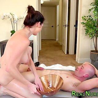 Tugging nuru wam masseuse milf with big tits