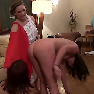 Sorority Sisters Test Thy Trust by Hazing The Young Teen Pledges (za9612)