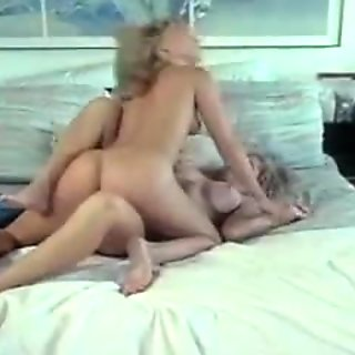 One big boner for two horny blonde lesbians