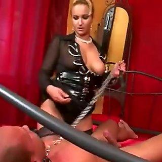 Lez domina toy tied slave